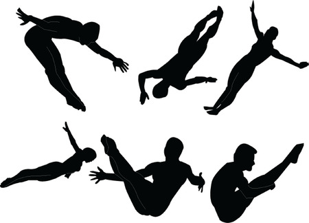 gymnast collection Vector