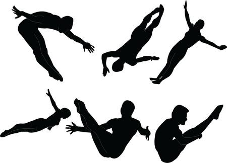 colección de gimnasta.