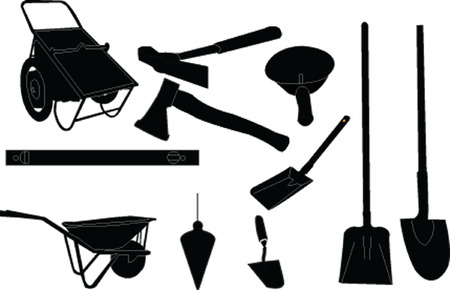 putty knives: mason equipment collection