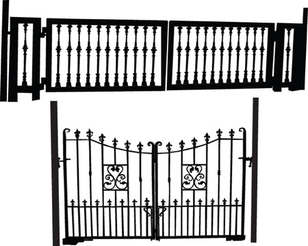 gates collection - vector Vector