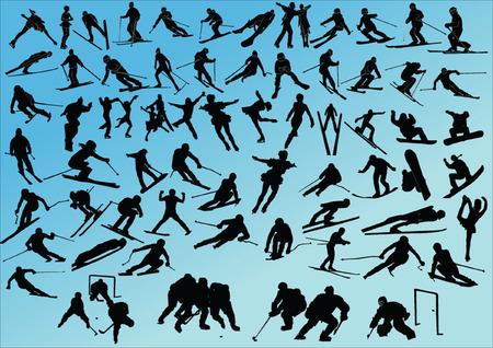 slalom: Big zimy sportu kolekcji