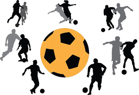 football collection  Vector