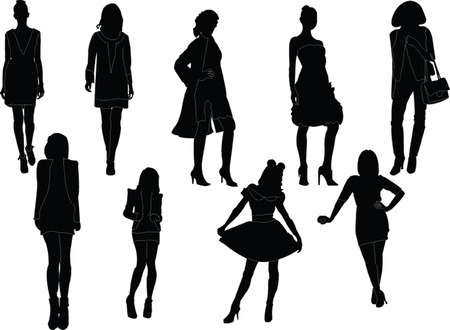fashion week collection  Vector