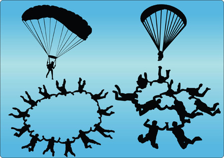 parachuter: jumpers collection