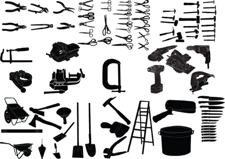 hand equipment collection  Stock Vector - 7689077