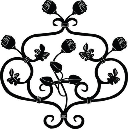 decorative motif - vecto Stock Vector - 8339937