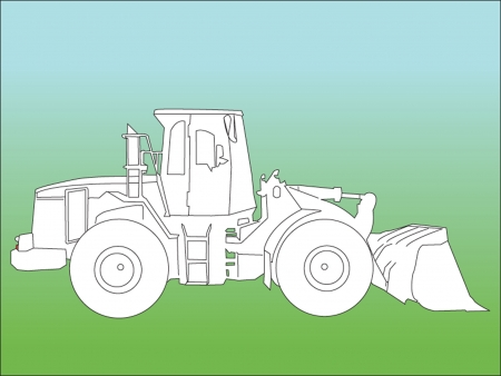 loader silhouette Vector