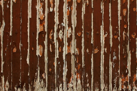 madera r�stica: Madera r�stica en la pared Foto de archivo