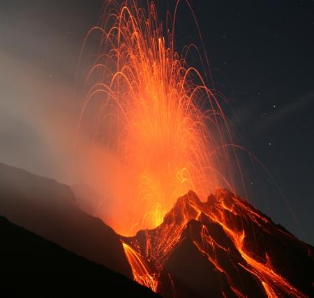 kilauea: Stromboli volcano eruption