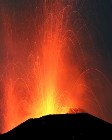 kilauea: Powerful explosion volcano Stromboli