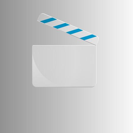 slate film: glass style. Single Icon