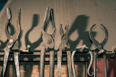 Set of forging tools