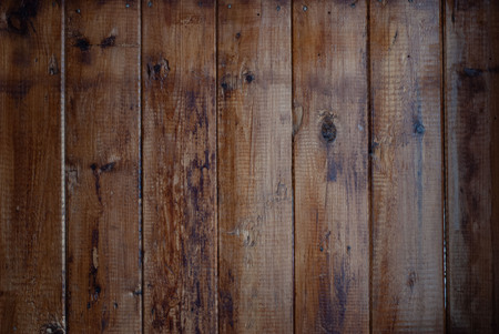 Dark old wooden background, lacquered wooden surface