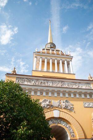 Admiralty Spire, St Petersburg Russia Stok Fotoğraf