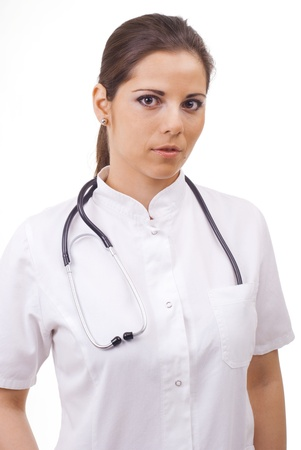 Young female doctor portrait Stock Photo - 12665318