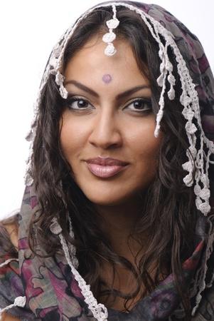 beautiful women india stile Stock Photo - 12665735