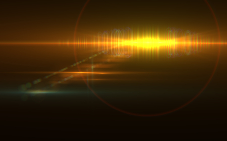 Abstract speed lens flare and light on space Stock Photo - 80408268