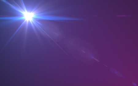 abstract of lighting digital lens flare in dark background Stock Photo - 80448557