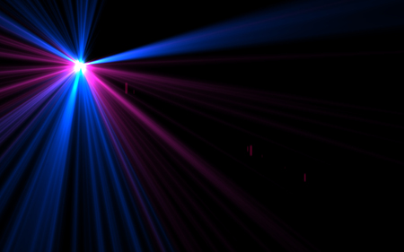Design abstract natural lens flare in space. Rays background Stock Photo