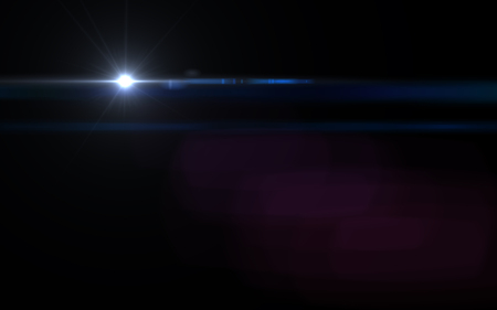 Abstract Natural lens flare. Rays background