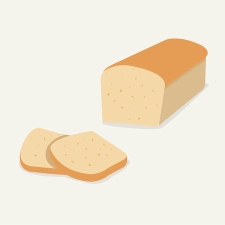 Whole wheat bread.Flat Bread loaf and Sliced.Bread for breakfast on soft background
