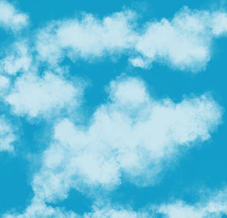 Nature sky background art.Blue sky day Zdjęcie Seryjne