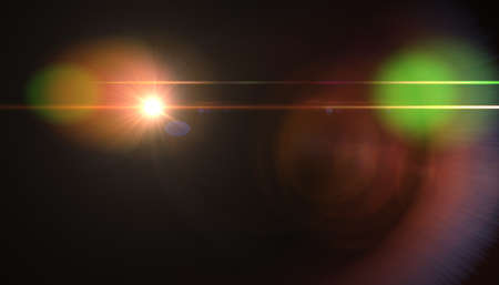 abstract glowing light sun burst with digital lens flare background. effect decoration with ray sparkles.Natural flare light. Stok Fotoğraf