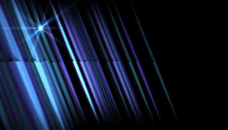 Abstract blue light with rays and lens flare.Modern abstract beautiful rays light streak background Stok Fotoğraf