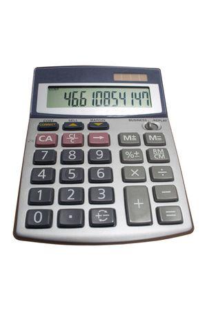Electronic calculator photo