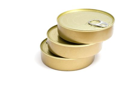 tinned goods: tinned goods Stock Photo