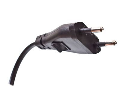 lagging: Power cord connector