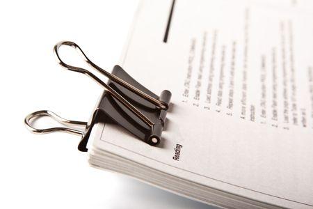 Paper clip Stock Photo - 8158258