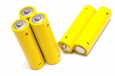 nimh: battery Stock Photo