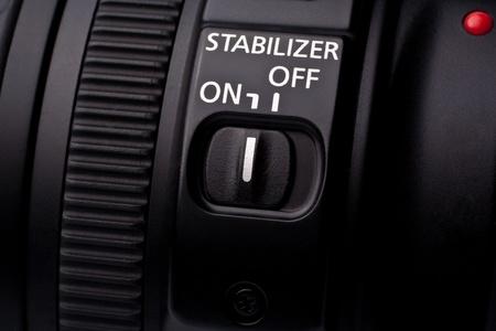 stabilizer: lens  stabilization switch