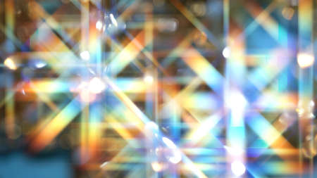 Blurred abstract background with a sparkle of crystals. 写真素材