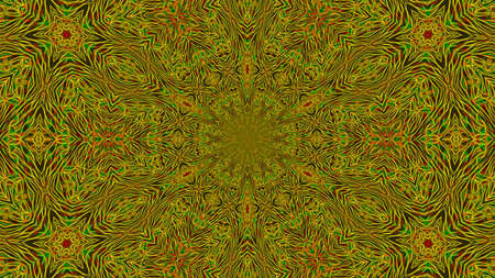 Abstract kaleidoscope background with multicolored pattern.