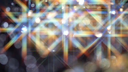 Blurred abstract background with a sparkle of crystals 写真素材