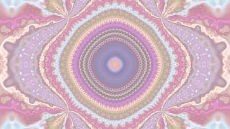 Abstract pink texture kaleidoscope background. For design and networking Reklamní fotografie