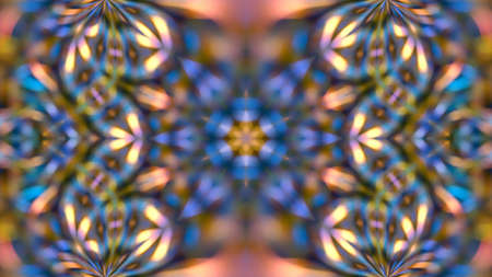 Abstract multicolored texture kaleidoscope background. For design and networking