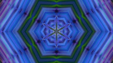 Abstract blue textured kaleidoscope background. For design and networking Reklamní fotografie