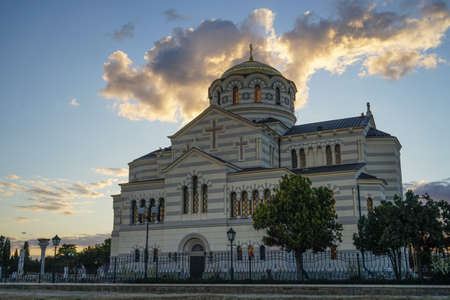 Vladimir Cathedral in Chersonesos - the Orthodox Church of the Moscow Patriarchate on the territory of Tauric Chersonesos