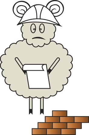 superintendent: sheep in the helmet