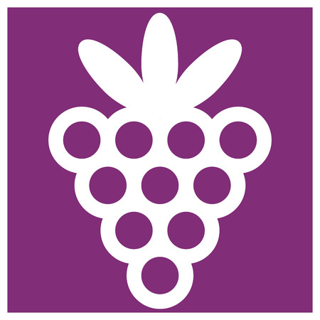 violet background: bacca su sfondo viola Vettoriali