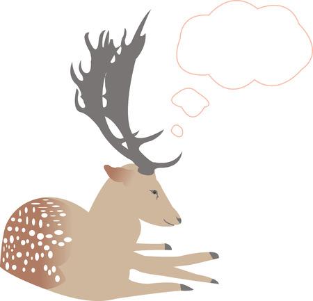 nobility: deer thinks