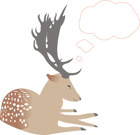 deer thinks