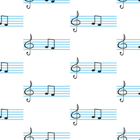 gamma tone: notes and clef in the background stave