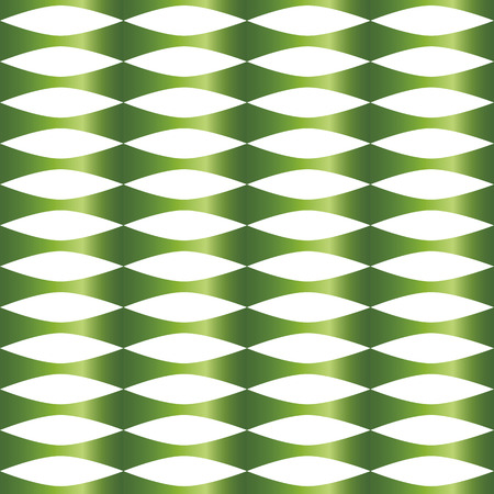 notch: pattern with green marks on a white background