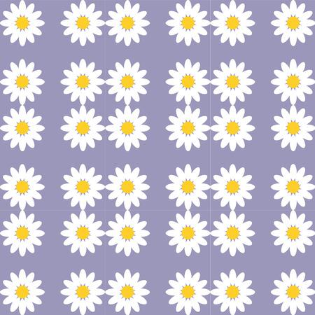 violet background: modello di Margherita fiore su sfondo viola