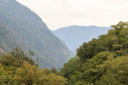 abkhazia: highest mountains in the country of Abkhazia