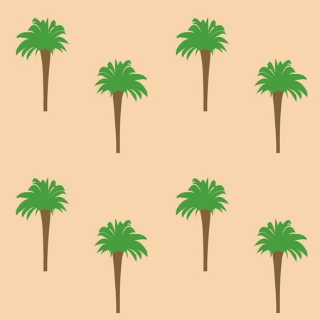 vegetation: pattern of vegetation in the form of palm trees